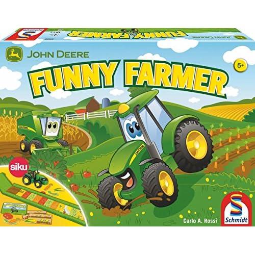 Schmidt Spiele 40568 - Jeu De Société - John Deere, Funny Farmers