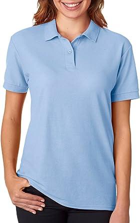 Gildan Womens Double-Needle Pique Polo Shirt