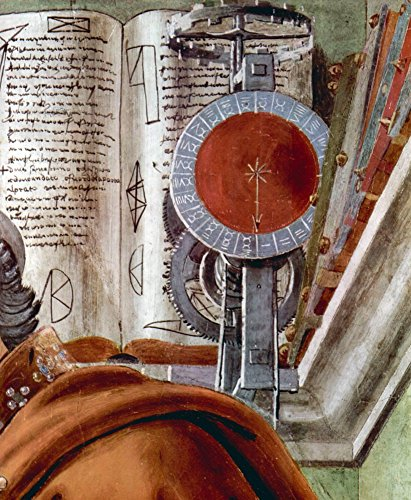 The Museum Outlet - St. Augustine in prayer Detail 2 by Botticelli - Canvas Print Online Buy (40 X 50 - Outlets Stores Augustine St