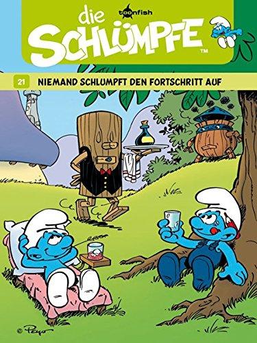Die Schlümpfe 21. Niemand schlumpft den Fortschritt auf Gebundenes Buch – 1. Oktober 2011 Peyo Thierry Culliford Pascal Garray Splitter-Verlag