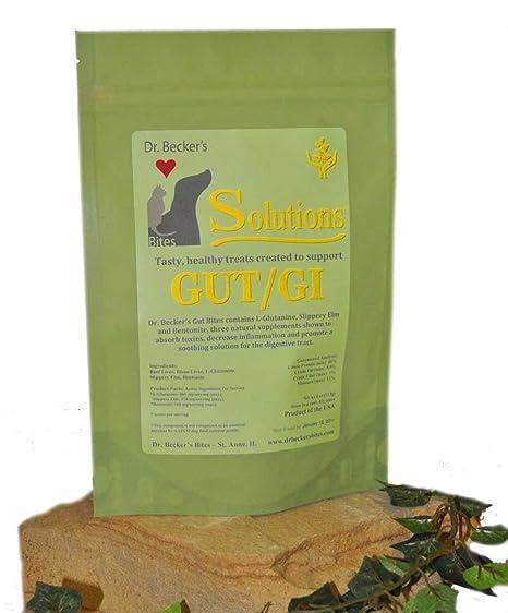 Amazon.com: Dr Becker s Gut/GI Solution Bites Treats ...