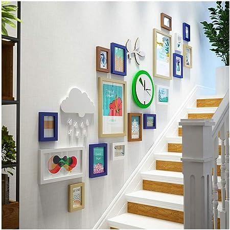 Gjfeng Escalier Photo Mur Petite Combinaison De Photo