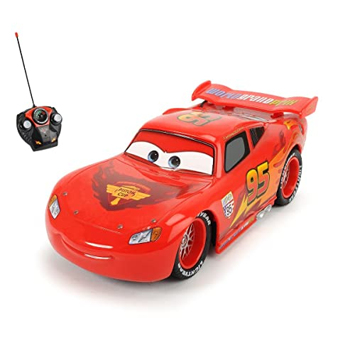 Disney Cars Jungen Toy Car with Remote Control–Rot
