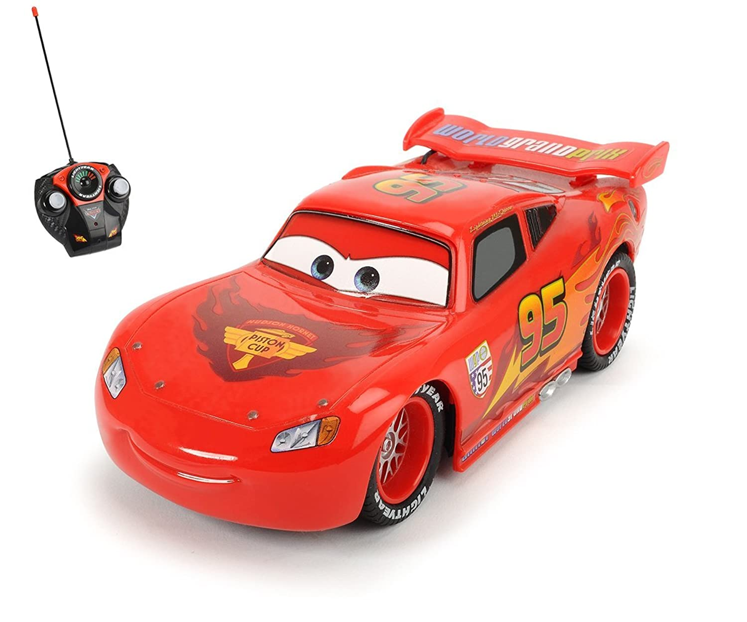 Toy Remote Control Cars For Boys : Disney cars boys toy car with remote control red ebay