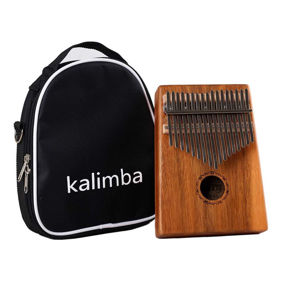 XuBa 17 Keys M-b-i-r-a Calimba African Thumb Piano Finger Percussion Acacia