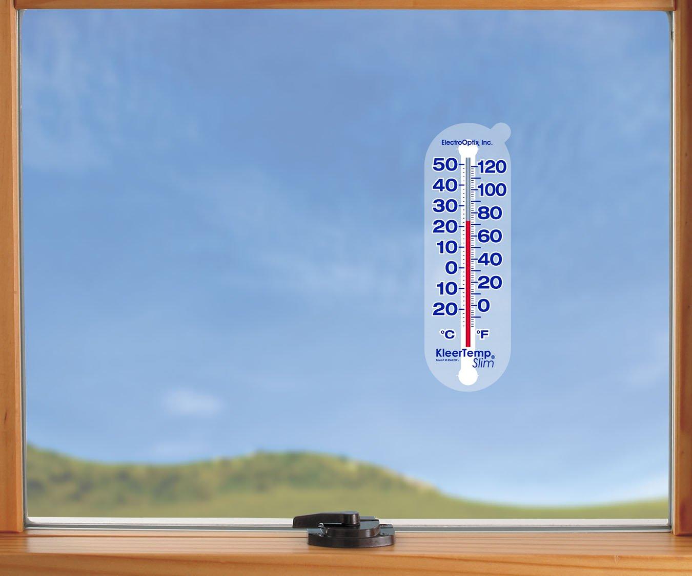 Electro-Optix KTS KleerTemp Slim Window Thermometer
