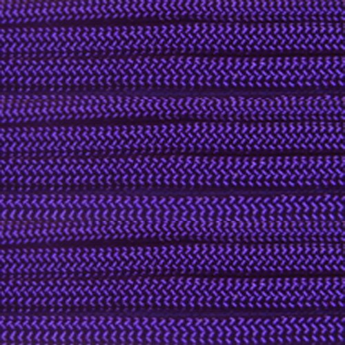 PARACORD PLANET 750 LB Type IV Paracord Authentic Parachute Cord. 11 Core Inner Strands Minimum Break Strength of 750 lb. Available in 10, 25, 50, 100 Foot Hanks and 250 & 1000 Foot Spools by PARACORD PLANET (Image #2)