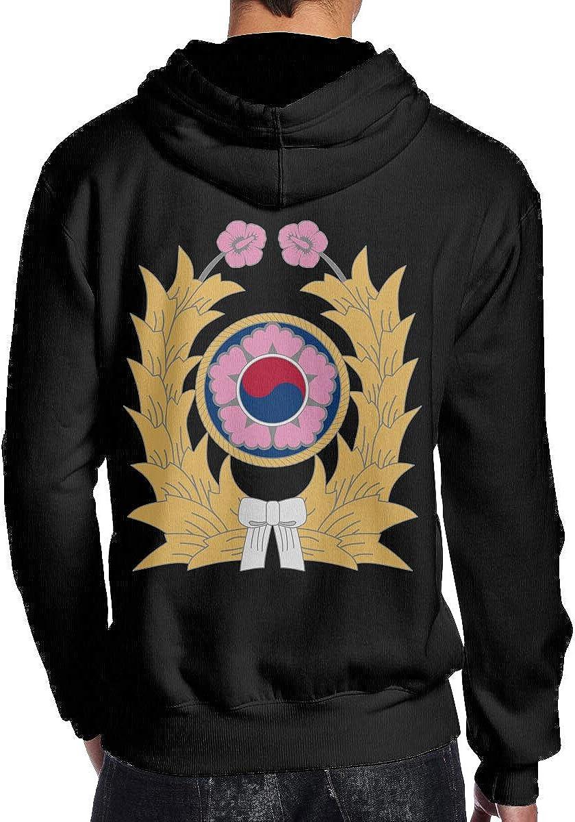 THEBUONUINV Republic of Korea Army Mens Hoodie Hooded Sweatshirt