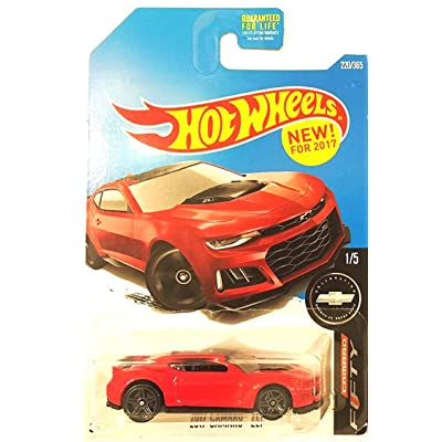 Hot Wheels 2020 Camaro Fifty 2020 Camaro ZL1 220/365, Red: Toys & Games