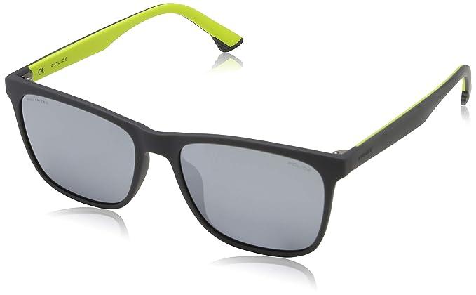 5ddbcfcb12 Police Sunglasses SKETCH 1 Montures de Lunettes, Gris (Rubberized Grey),  55.0 Homme