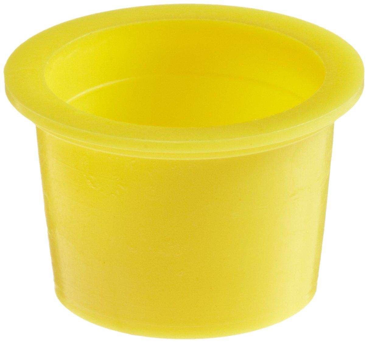 Yellow 28.0 mm Tube OD Poppelman Plastics 61000200000 Kapsto 610 U 20 Polyethylene Universal Protection Pack of 100