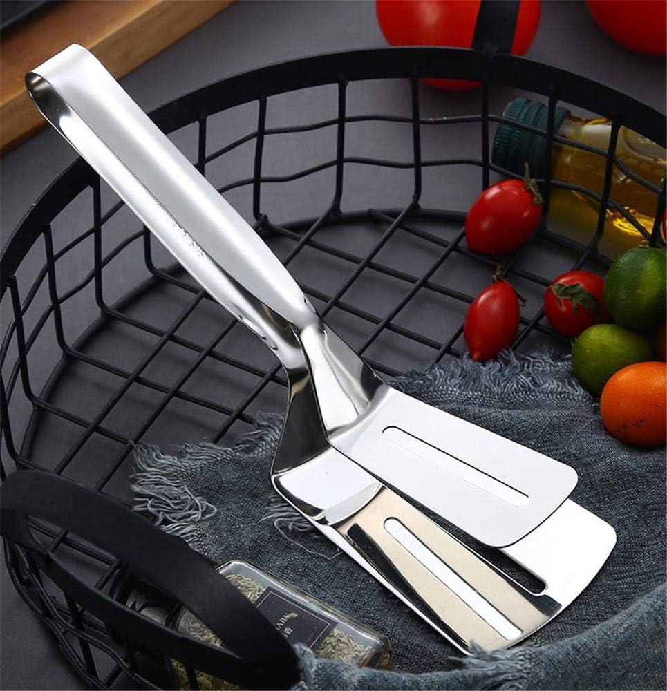 barbacoa antideslizante de acero inoxidable Pinzas de cocina DUORUI de acero inoxidable para cocinar y servir en horno