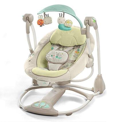 Amazon.com : Tcaijing Baby Swing Cradle Multi-Function ...