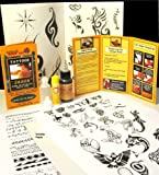 Jagua Kit (30ml Jagua) Over 150 Designs - Ready to Use- Support non-profit