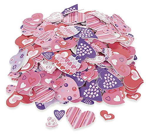 Fun Express Foam Adhesive Hearts