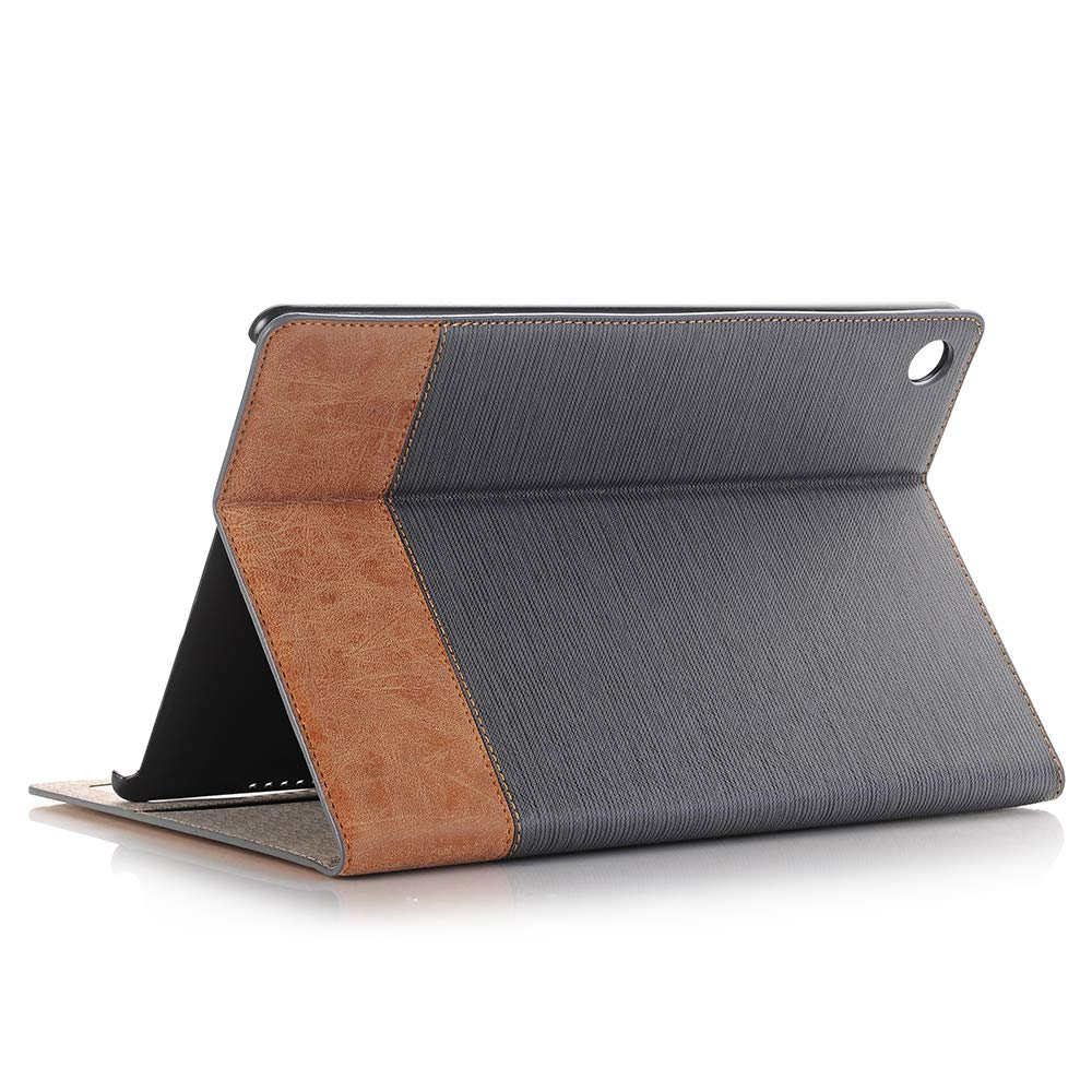 Huawei MediaPad M5 Case Cover 10.8 10.1 10 T5 KingTo Luxury Folding Stand Folio Cover (with Card Slots) for Huawei M5 Multiple Viewing Angles by KingTo (Image #4)