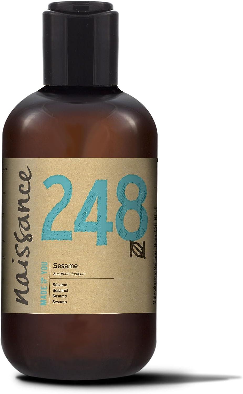 Naissance Sésamo - Aceite Vegetal Prensado en Frío 100% Puro - 250ml