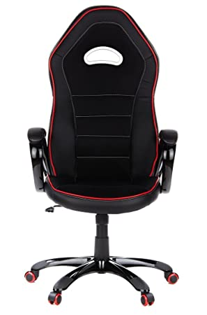 Rouge Simili Cuir En Au Office Avec Racing Et Chaise Noir Baquet GamingFauteuil Pace 621720 De Accoudoirs SoupleSiège Bureau Gamer Hjh Capitonnage SUzMVGqp