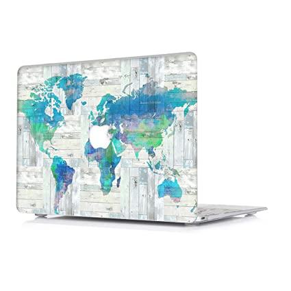 MacBook Pro 13 Case 2018 & 2017 & 2016 (Model: A1989, A1706 /A1708) - L2W Protective Hard Case, Plastic Rubber Coated Shell Cover for New MacBook Pro ...