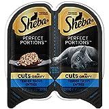 Sheba Wet Food Cuts in Gravy Tender Trout Entrée Wet Cat Food (24 Twin Packs)
