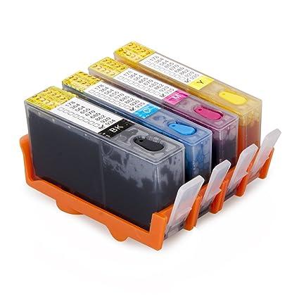 aomya Compatible Cartuchos de tinta de repuesto para HP 934 935 ...