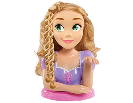 amazon com disney princess deluxe rapunzel styling head doll toys