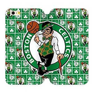 Boston Celtics Logo Case Case For Sumsung Galaxy S4 I9500 Cover Plus PC Flip Case and High Grade PU Leather Cover