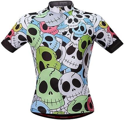 LOYFUN Ciclismo Jersey Hombres, Camisa Llena Impreso Unisex ...