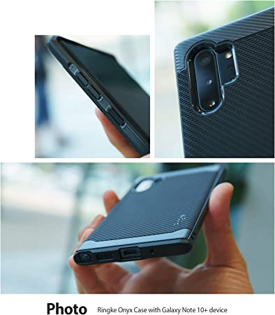 Ringke Onyx Diseñado para Funda Galaxy Note 10 Plus, Carcasa ...