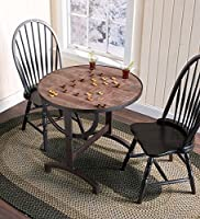 Plow & Hearth Chess Board Folding Table