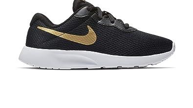 new product a25f9 3426b Nike Boy s Tanjun (PS) Running Shoes (11 M US Little Kid, Black