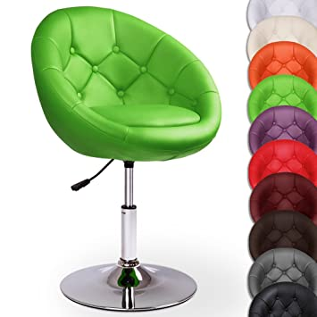 Miadomodo Chesterfield Lounge Sessel Barhocker Cocktail Drehsessel