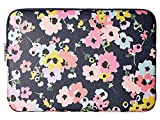 Kate Spade New York Wildflower Bouquet Universal Laptop Sleeve, Navy Multi, One Size