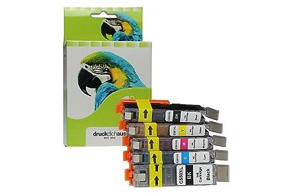 XXL cartuchos de tinta sustituie Canon PGI-550 & CLI-551 | para Canon Pixma MG 5600 Series, MG 5650, Canon Pixma IP7250, Canon Pixma MX925 | negro, ...