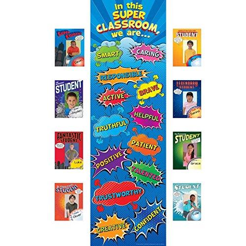 in This Super Classroom Bulletin Board Kit ()