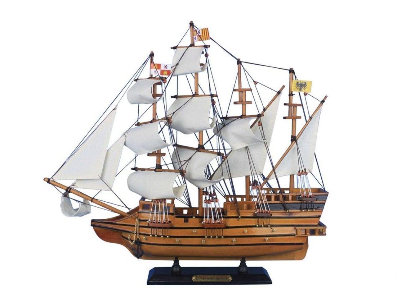 Hampton Nautical Atocha-20 Wooden Mel Fisher's Atocha Model Ship, 20''