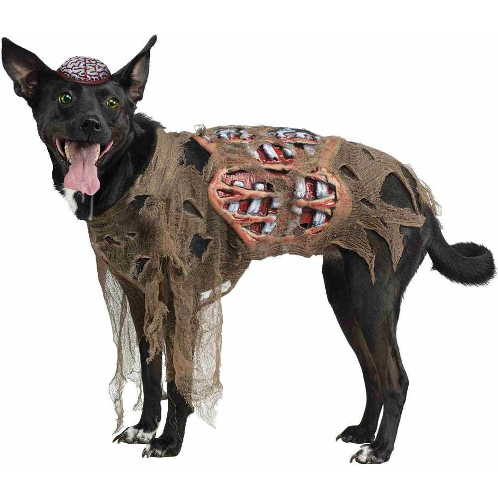 Halloween-Zombiekostüm für Hunde, Faschingskostüm - Collie 18-27kg