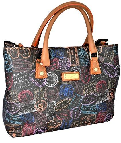 Borsa Spalla Tracolla Donna Moka Alviero Martini Bag Woman Brown