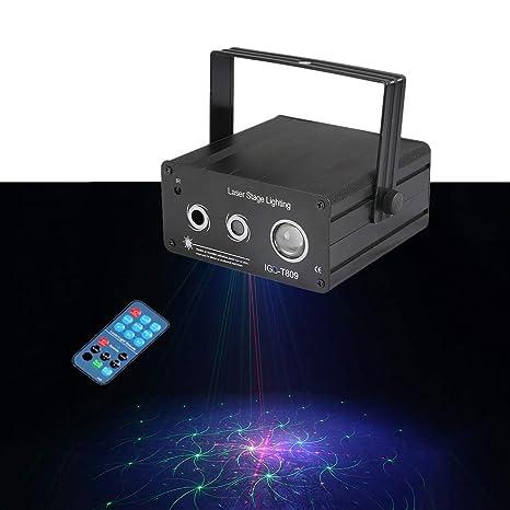 El partido enciende sonido activado 3 Etapa lente del proyector ...