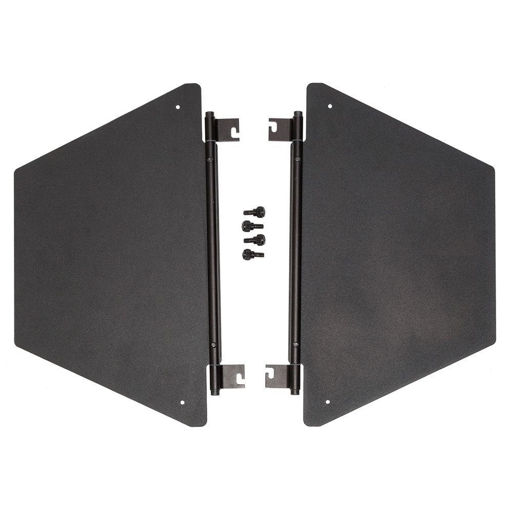 F & V BSS2 Barndoor 2 Leaf Sides Set for K4000/Z400/K8000/Z800 Light by F & V