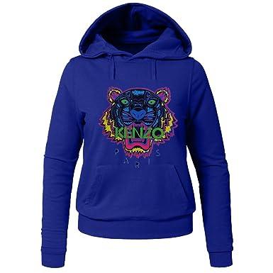 Pop Kenzo Tiger Head For Ladies Womens Hoodies Sweatshirts Pullover Outlet: Amazon.es: Ropa y accesorios
