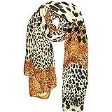 Ruiting 70 * 170cm Mujeres Moda Animal Print Hombro Flecos Pashmina Bufanda del Abrigo Estampado Leopardo Bufandas Extrema Suave Chal para Cualquier estación 1PC