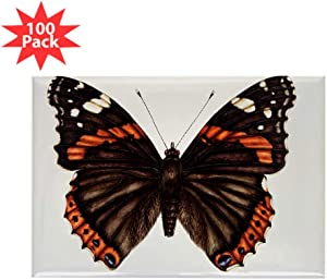 CafePress Red Admiral Butterfly Rectangle Magnet (100 Pk) Rectangle Magnet (100 pack)
