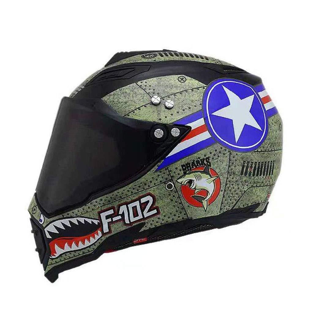 柔らかな質感の アウトドアアダルトフルカバーヘルメットアンチフォグダブルレンズオートバイヘルメット安全ライトユニセックス通気性ヘルメット XL(61-62cm) (サイズ (サイズ さいず : XL(61-62cm)) B07KT463GC B07KT463GC XL(61-62cm), カワサキク:3efbbaac --- a0267596.xsph.ru