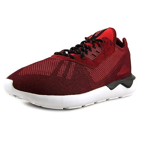 timeless design 35b75 6d40f Adidas Tubular Runner Weave Men s Shoes Collegiate Burgundy Black s74812  (8.5 D(M