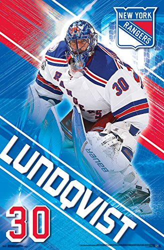 Trends International New York Rangers Henrik Lundqvist Wall Poster 22 375 X 34