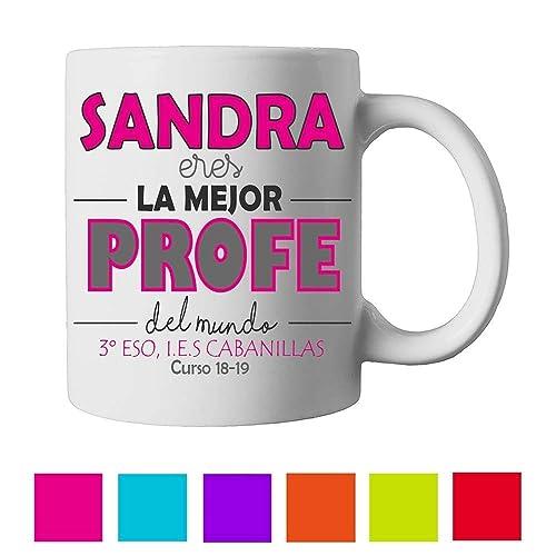 La Del Taza Mejor ProfesoramujerEres Mundo Regalos eE9W2IDHY