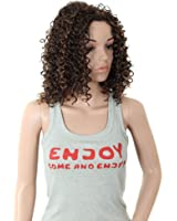 """S-ssoy 18"""" Western Sexy Women Shoulder Length Wavy Party Wigs"""