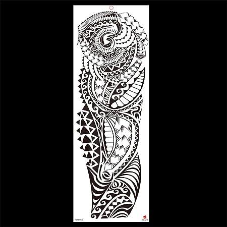 zgmtj Etiqueta engomada del Tatuaje del Brazo de la Flor de la ...
