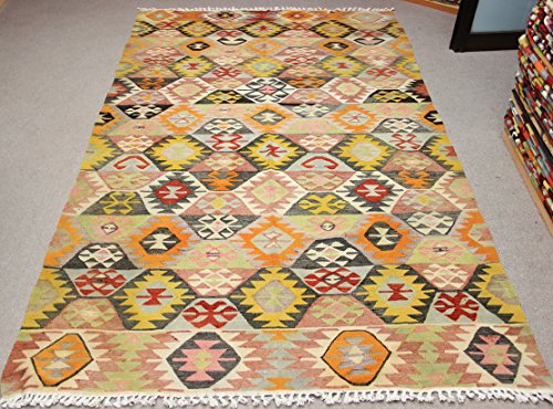 Art deco Kilim rug 9,5x5,6 feet Area rug Old Rug Bohemian Kilim Rug Floor rug Sofa Decor Rustic Kilim Rug